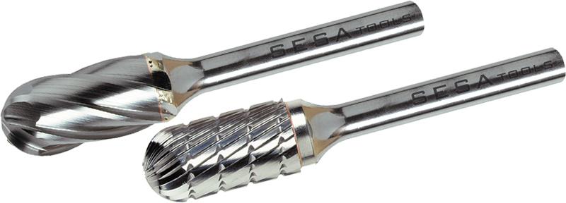Fresas rotativas de metal duro